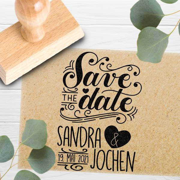 Stempel Save the date 'Dasius' Nr. 19