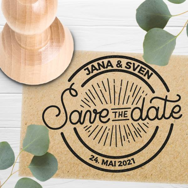 Stempel Save the date 'Cesaria' Nr. 12