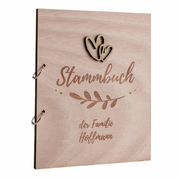 Stammbuch Holz Fiore Nr. 73