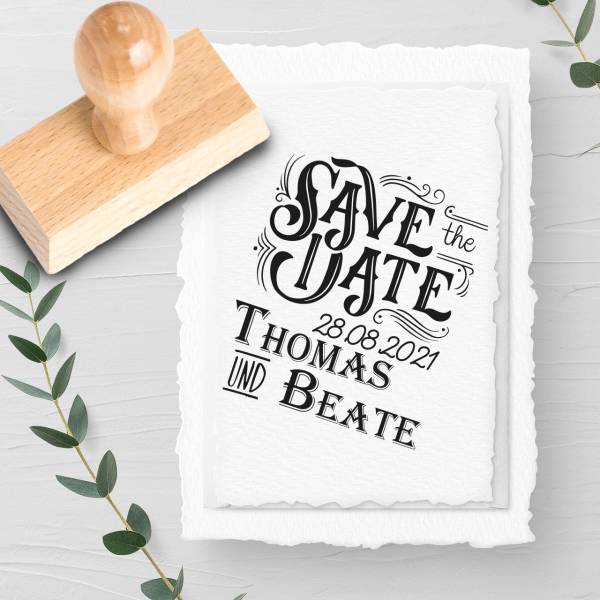 Stempel Save the date 'Donat' Nr. 22