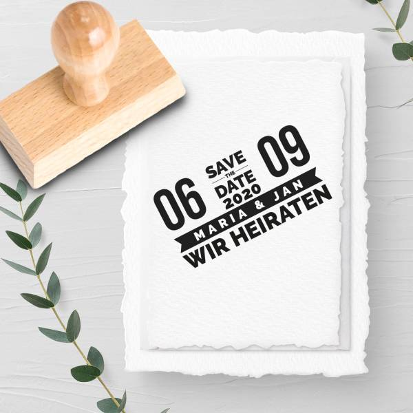Stempel Save the date 'Constantin' Nr. 14