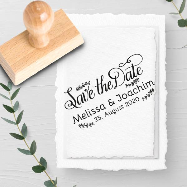 Stempel Save the date 'Domino' Nr. 21