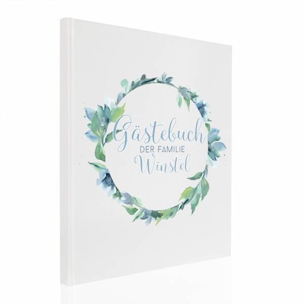 Gästebuch Hochzeit Blue Tanja