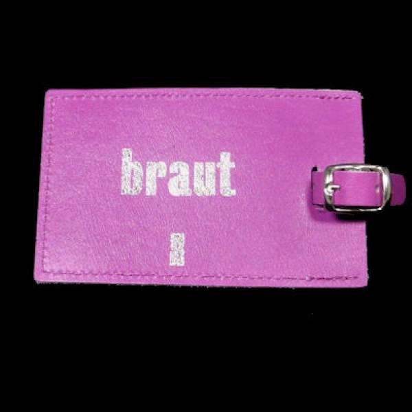 Kofferanhänger Braut