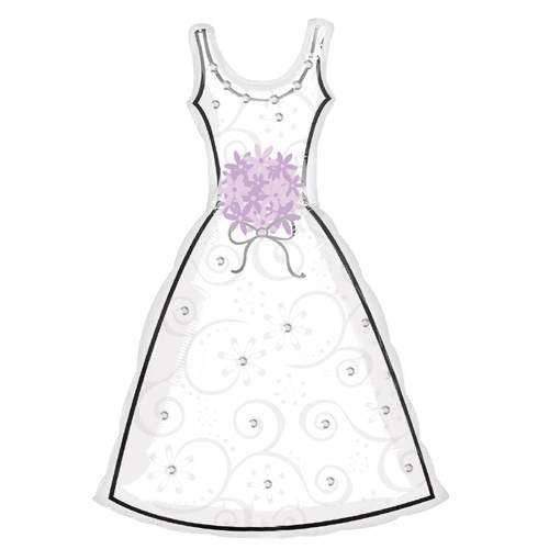 Folienballon Dress