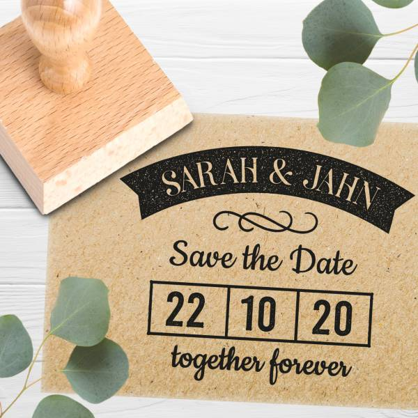 Stempel Save the date 'Dorian' Nr. 23