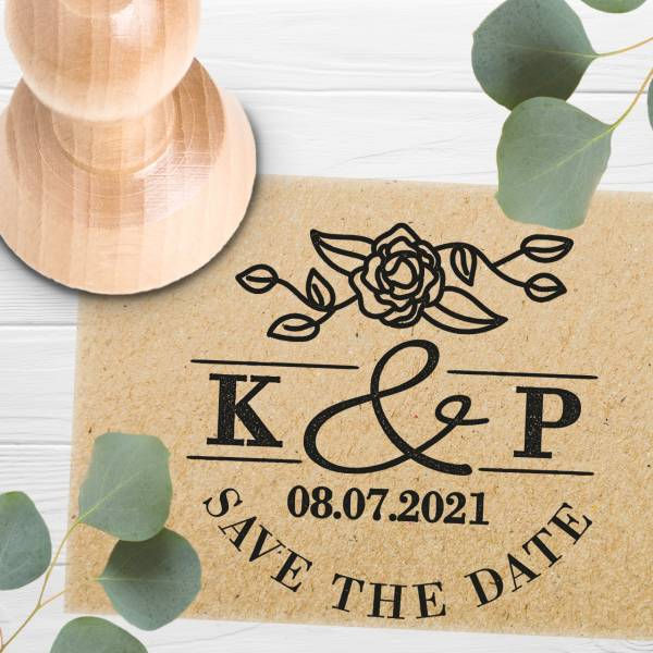 Stempel Save the date 'Caecilia' Nr. 10