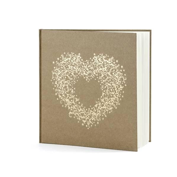 Gästebuch Vintage Heart