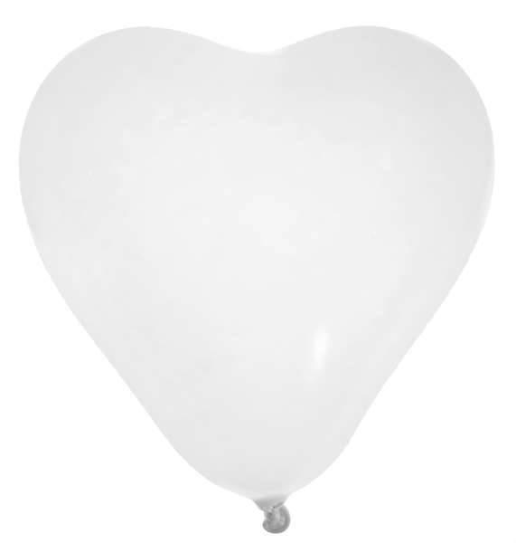 8 Herzballons