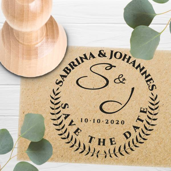 Stempel Save the date 'Aurora' Nr. 8
