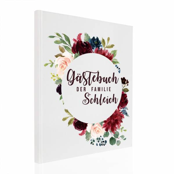 Gästebuch Bouquet Cercle