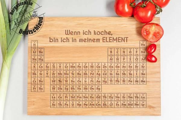 Schneidebrett Chemische Elemente