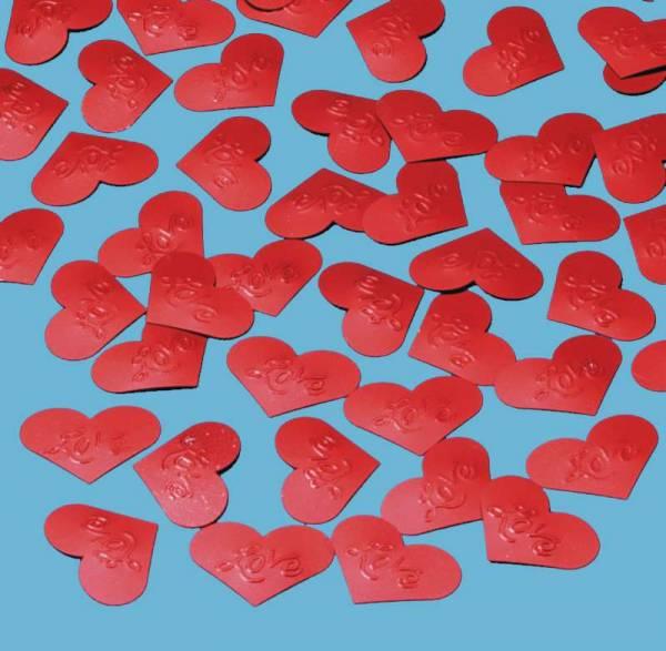 Deko Konfetti Herzen Love