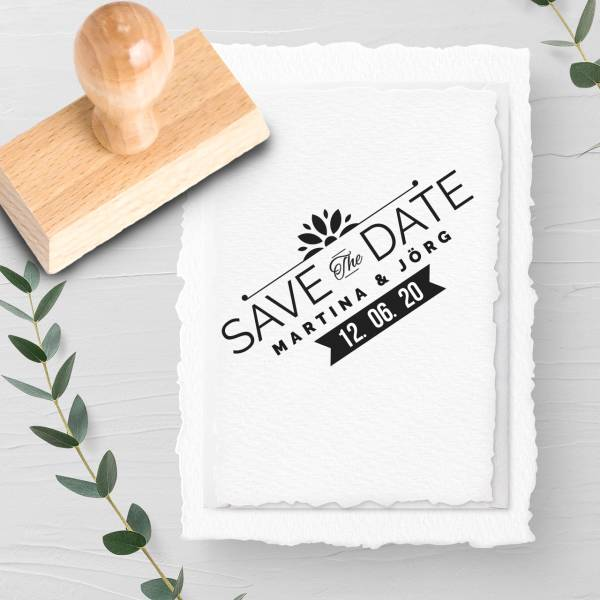 Stempel Save the date 'Columbo' Nr. 13