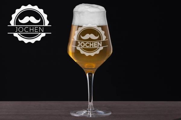 Craft Beer Glas Moustache