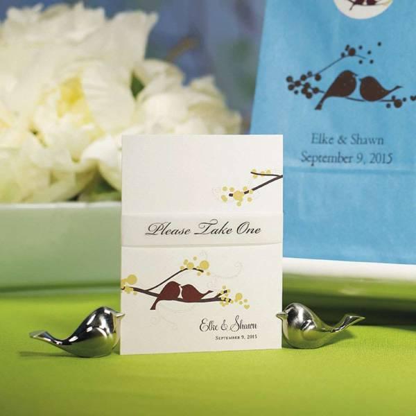 Tischkartenhalter Love Bird