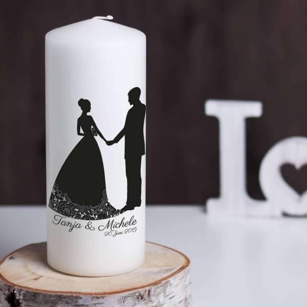 Hochzeitskerze Coppia