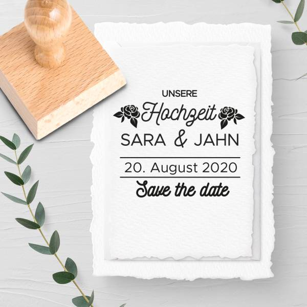 Stempel Save the date 'Ernest' Nr. 26
