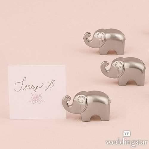 Tischkartenhalter Elefant