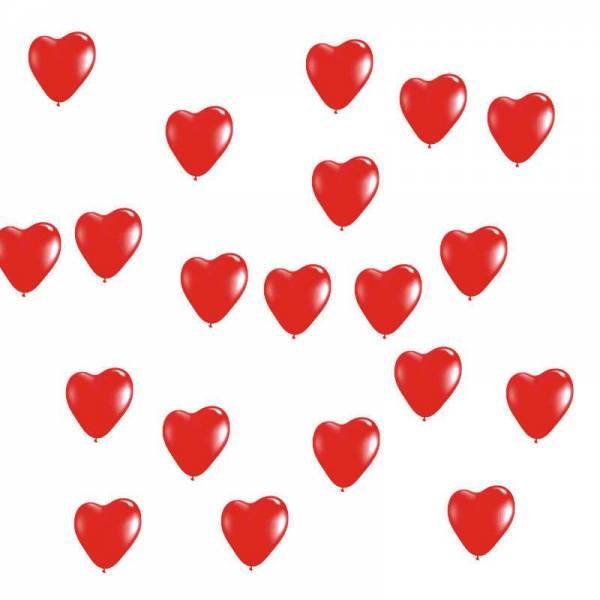 Kleine Herzballons