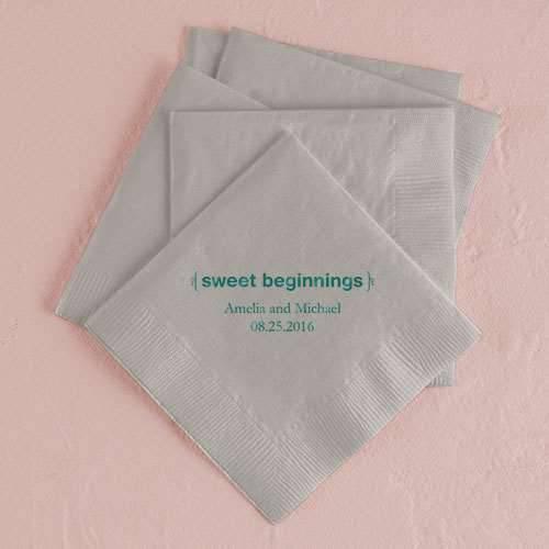 Servietten Sweet Beginnings