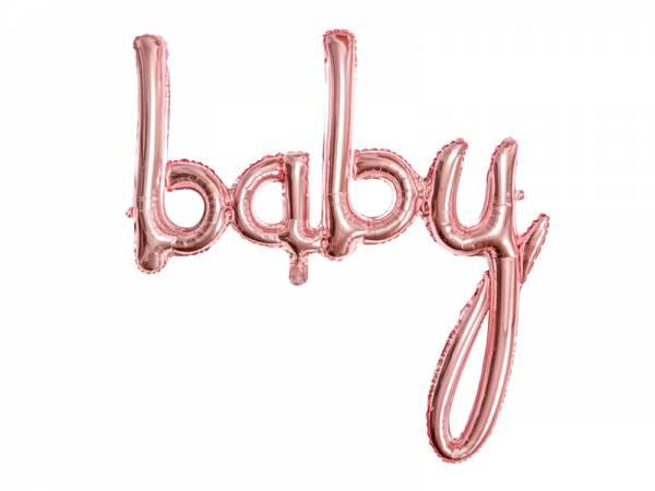 Folienballon BABY Schreibschrift