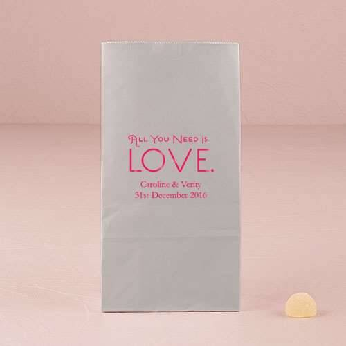 Geschenktüte All you need is Love