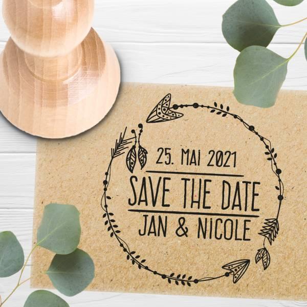 Stempel Save the date 'Carme' Nr. 11