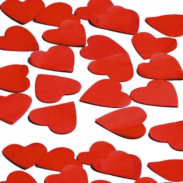 Papierkonfetti Herzen