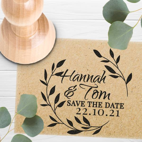 Stempel Save the date 'Amata' Nr. 5