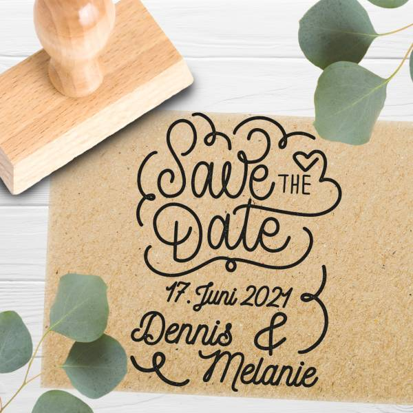 Stempel Save the date 'Dominicus' Nr. 20