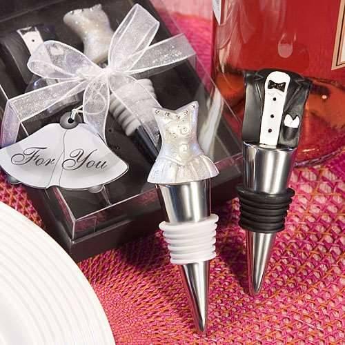 Flaschenverschluss Braut und Bräutigam