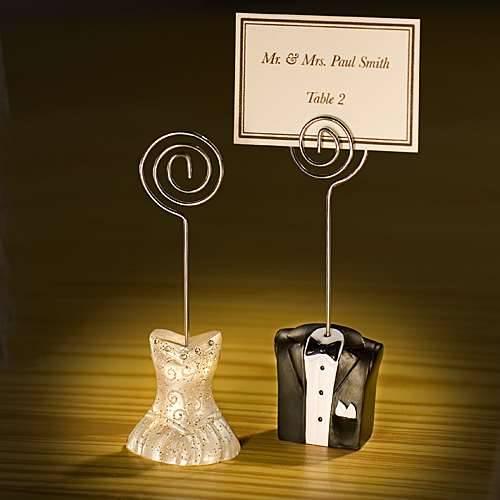Tischkartenhalter Brautpaar