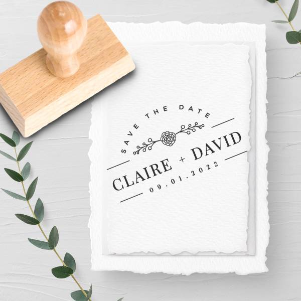 Stempel Save the date 'Crispin' Nr. 16