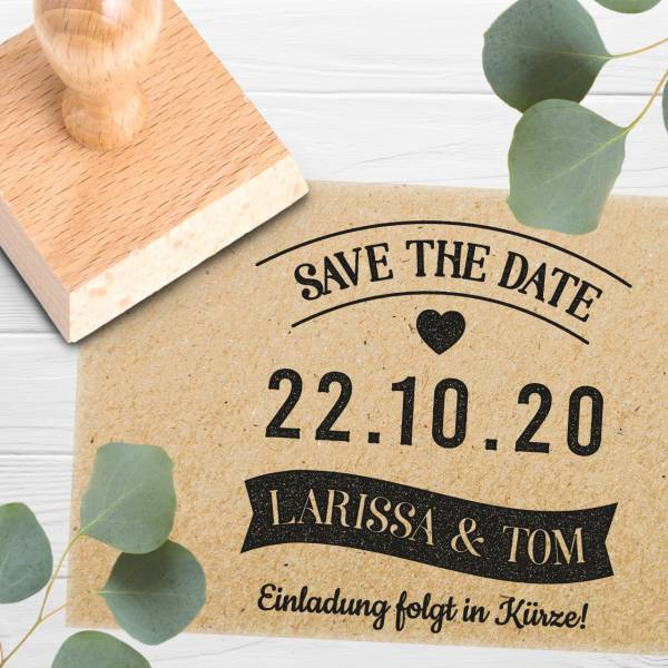 Stempel Save the date 'Durante' Nr. 24