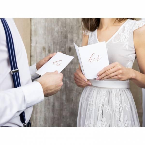 Heft für Eheversprechen