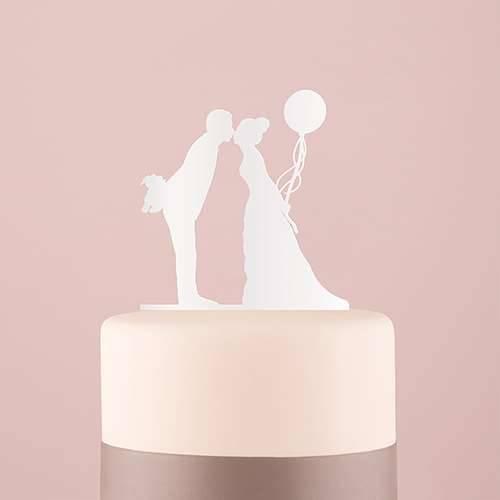 Tortenfigur Acrylglas Luftballon - verschiedene Farben