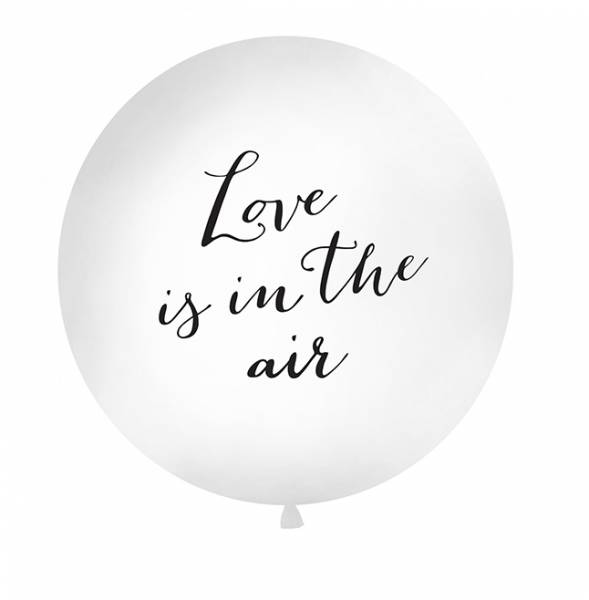 Riesen Ballon Love is in the air