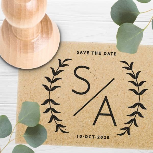 Stempel Save the date 'Amilia' Nr. 2