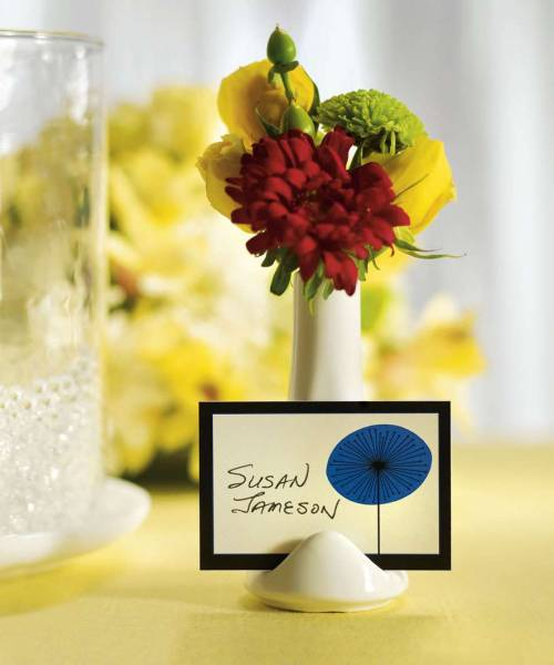 Tischkartenhalter Vase
