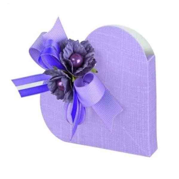 Herz lila