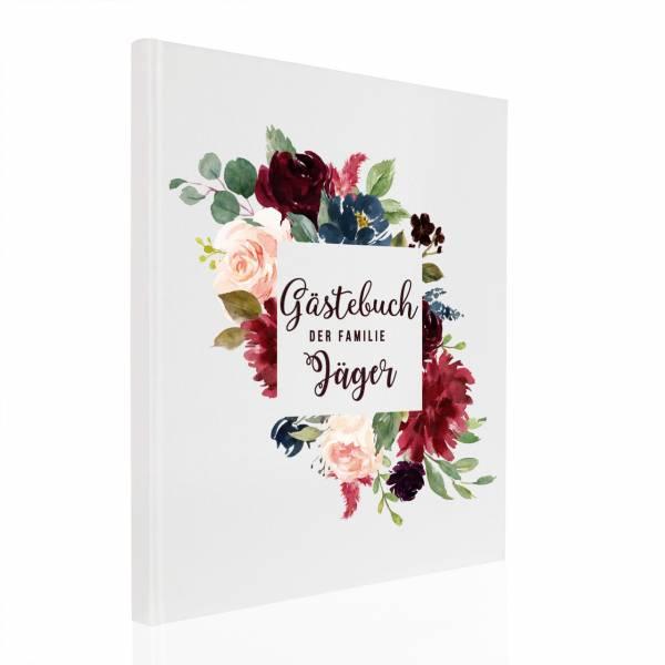 Gästebuch Bouquet Carré