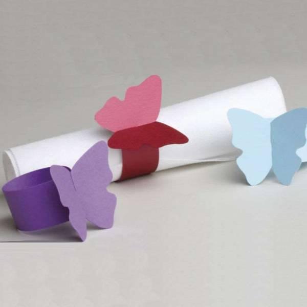 Serviettenring Schmetterling
