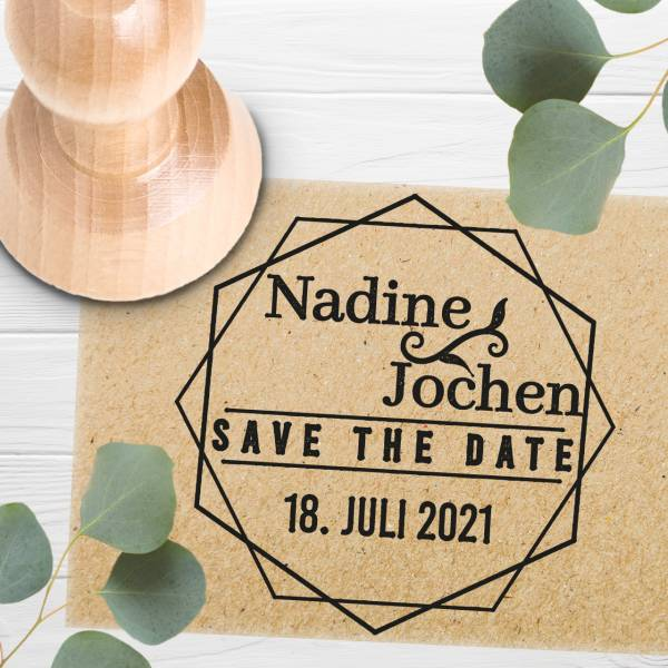 Stempel Save the date 'Benedicta' Nr. 9