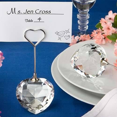 Tischkartenhalter Crystal Heart