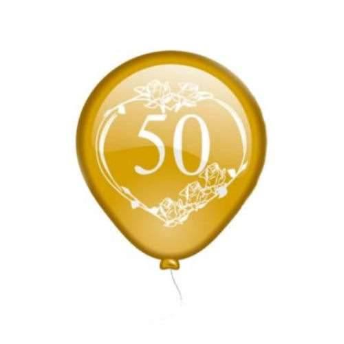 Luftballon Goldenehochzeit 50