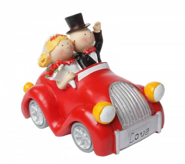 Spardose Hochzeitsauto