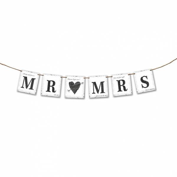 Girlande Mr loves Mrs